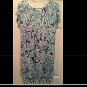 Lilly Pulitzer lilac dress